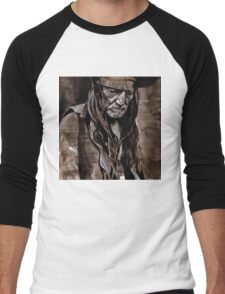 Sepia Willie Men's Baseball ¾ T-Shirt