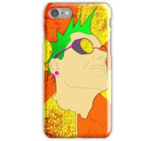 The Face of Punk iPhone Case/Skin