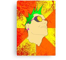The Face of Punk Canvas Print