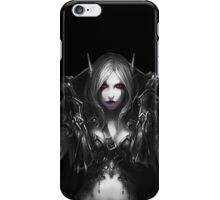 WOW- Sylvanas WIndrunner with out Wallpaper iPhone Case/Skin