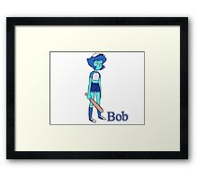 Bob Lazuli Framed Print