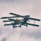 Bi-plane Dogfight by Nigel Bangert