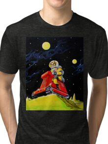 SPACE SCOUT DOUG DAVIS Tri-blend T-Shirt
