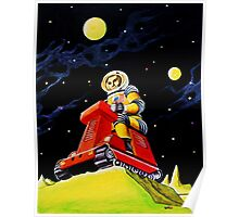SPACE SCOUT DOUG DAVIS Poster