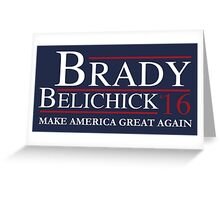 Brady Belichick '16 Greeting Card