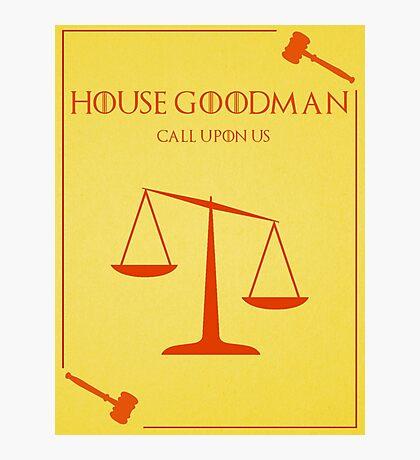 House Goodman Photographic Print