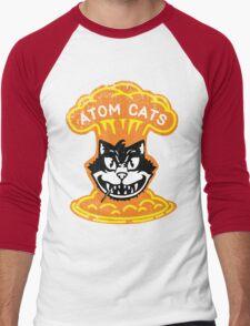 Atom Cats! Men's Baseball ¾ T-Shirt