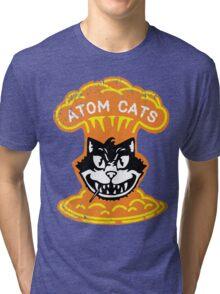 Atom Cats! Tri-blend T-Shirt