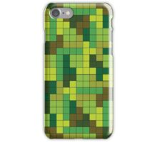Tetris Camouflage Forest iPhone Case/Skin