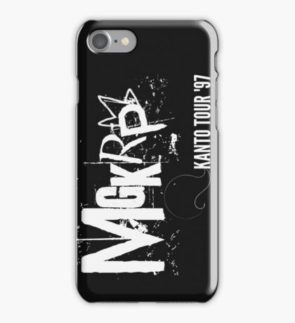 Pseudo Band | MGKRP - Kanto Tour iPhone Case/Skin