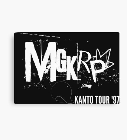 Pseudo Band   MGKRP - Kanto Tour Canvas Print