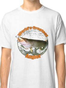 World's greatest angler Classic T-Shirt