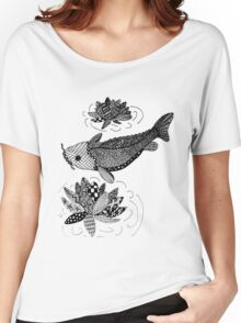 Zentangle Fish Women's Relaxed Fit T-Shirt