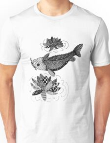 Zentangle Fish Unisex T-Shirt