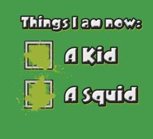 Things I am now - Green Team Baby Tee