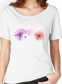 Spring Floral Women's Relaxed Fit T-Shirt