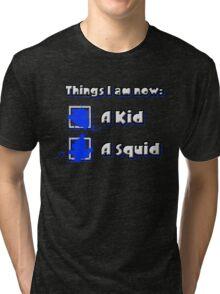 Things I am now - Blue Team Tri-blend T-Shirt