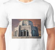 Vista House on Crown Point at Sunset Unisex T-Shirt