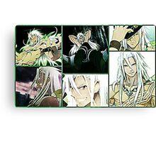 Tales Of Zetiria collage 1 Zavied Canvas Print