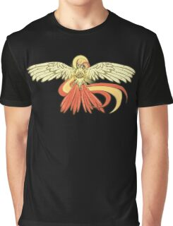 Bird Jesus feat. Helix Fossil- Twitch Plays Pokemon Graphic T-Shirt