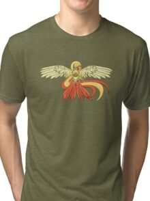 Bird Jesus feat. Helix Fossil- Twitch Plays Pokemon Tri-blend T-Shirt