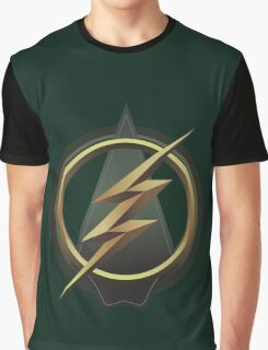 The Arrow and Flash combined symbol Graphic T-Shirt