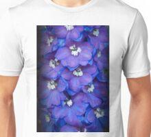 Magic Fountain - Blue Delphinium Unisex T-Shirt