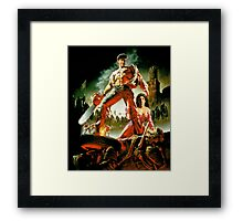 Army of Darkness, evil dead Framed Print