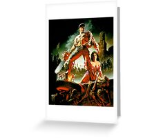 Army of Darkness, evil dead Greeting Card