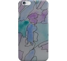 Watercolor Districts iPhone Case/Skin