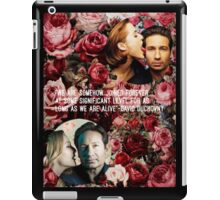 Gillian and David iPad Case/Skin