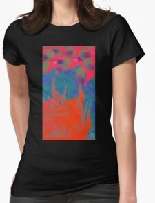 Fire Under the Sea Womens Fitted T-Shirt