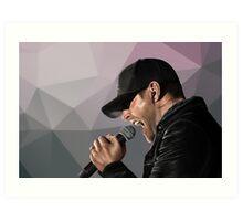 Rock Star Jensen Art Print
