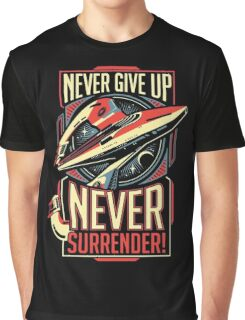 Never Give Up Surrender Graphic T-Shirt