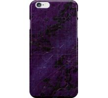 USGS TOPO Map Alabama AL Sleeping Giants 305062 1987 24000 Inverted iPhone Case/Skin