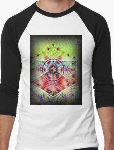 Wheel Of Dharma  Men's Baseball ¾ T-Shirt