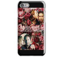 Gillian and David iPhone Case/Skin