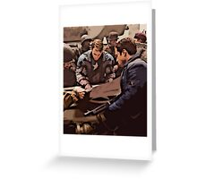 Planning Attack Greeting Card