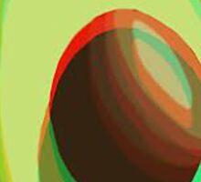 Trendy Avocado Sticker