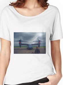 Watching the Apache Arrive Women's Relaxed Fit T-Shirt