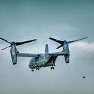 Bell Boeing V-22 Osprey  by Nigel Bangert