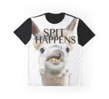 Spit Happens Graphic T-Shirt