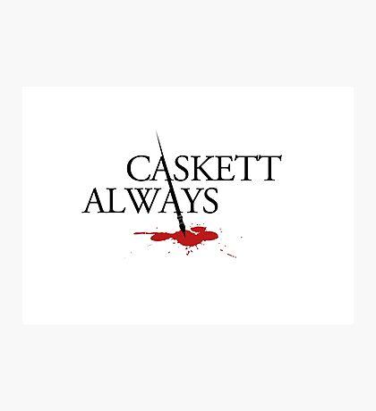 Caskett always Photographic Print
