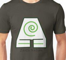 Earth Nation Symbol White Background Unisex T-Shirt