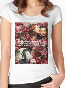 Gillian and David Women's Fitted Scoop T-Shirt