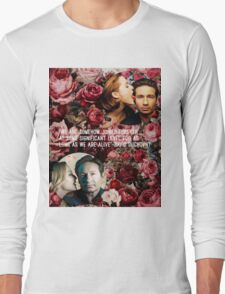 Gillian and David Long Sleeve T-Shirt