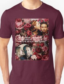 Gillian and David Unisex T-Shirt