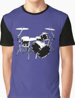 Drumkit (front view) Graphic T-Shirt