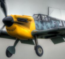 Hispano Buchon Sticker
