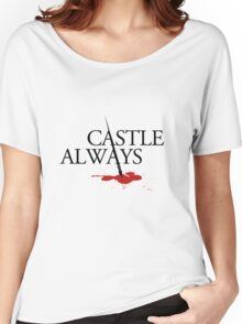 Castle always Women's Relaxed Fit T-Shirt